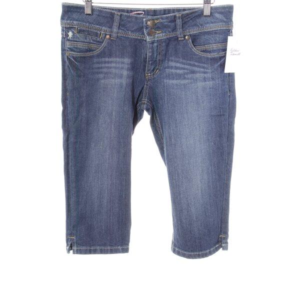 edc by Esprit 3/4 Jeans dunkelblau Jeans-Optik