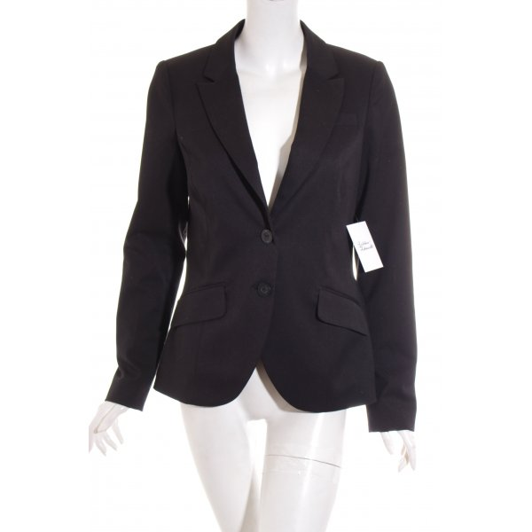 Edc Esprit Blazer schwarz Business-Look