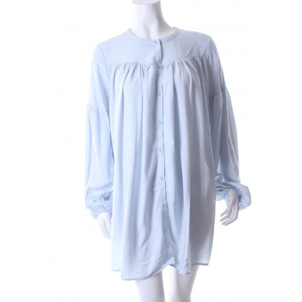 Edited Long-Bluse hellblau