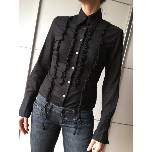 Edle schwarze Bluse von GAS 36