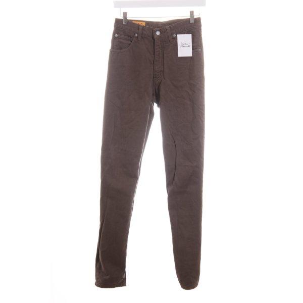 Edwin Straight-Leg Jeans grüngrau Casual-Look
