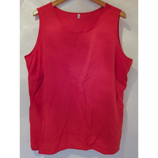 einfaches Top in rot