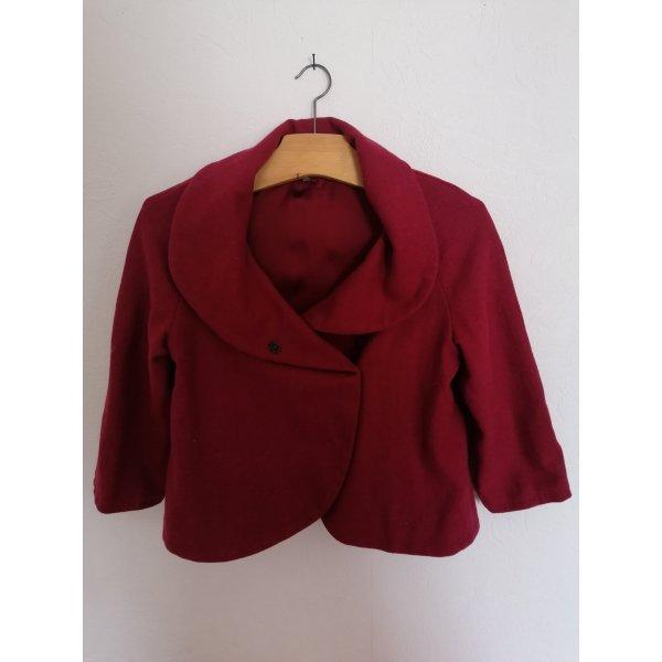 Elegante Kurzjacke, rot