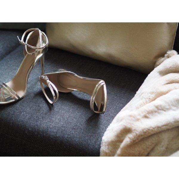 ELIVIA - High Heel Sandaletten - gold / Gr. 40 /  !!! NP 90 € !!!