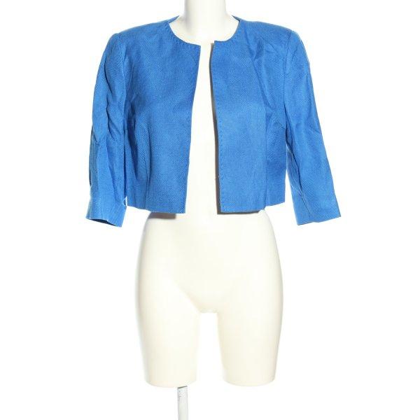 Elizabeth Kurz-Blazer blau Casual-Look
