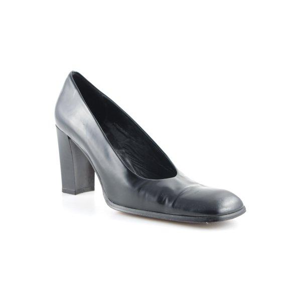 Ella Schlüpfschuhe schwarz Elegant