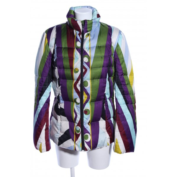 Emilio Pucci Steppjacke abstraktes Muster Casual-Look