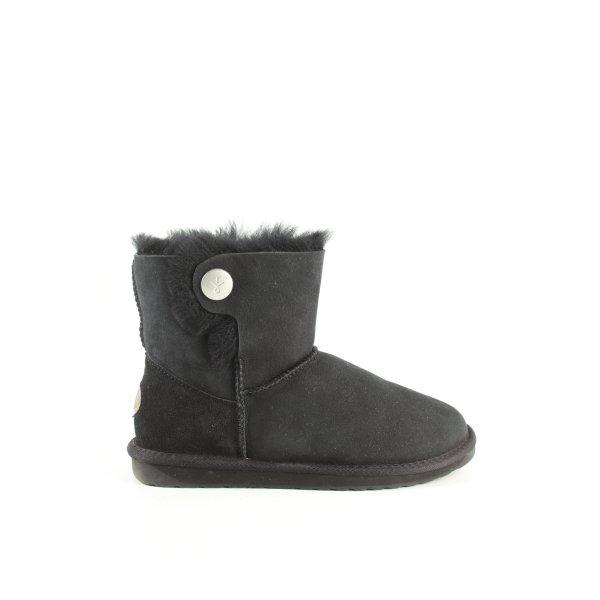 Emu Winter-Stiefeletten schwarz Casual-Look