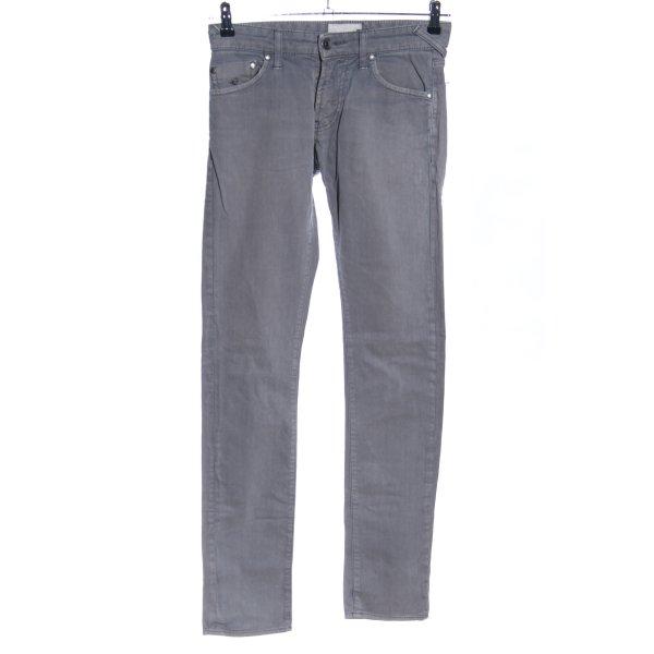 Energie Slim Jeans hellgrau Casual-Look