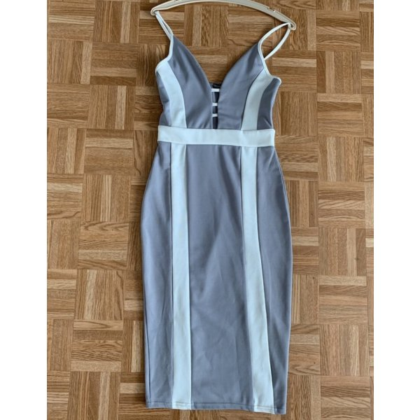 Enganliegendes Maxi Dress/Kleid von Boohoo