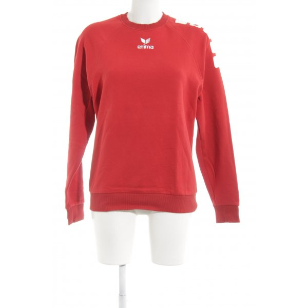 Erima Sweatshirt rot sportlicher Stil