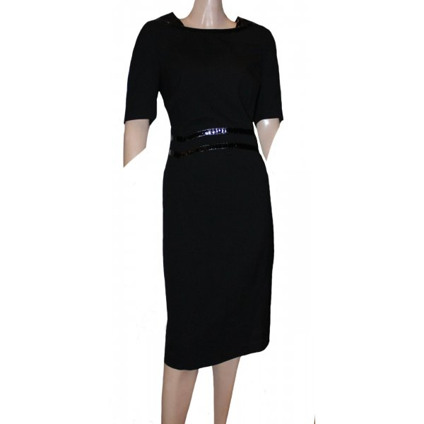 ESCADA Cocktail Kleid schwarz Gr. 38