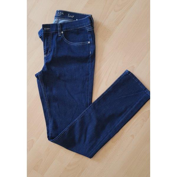 Escada Sport Jeans met rechte pijpen blauw