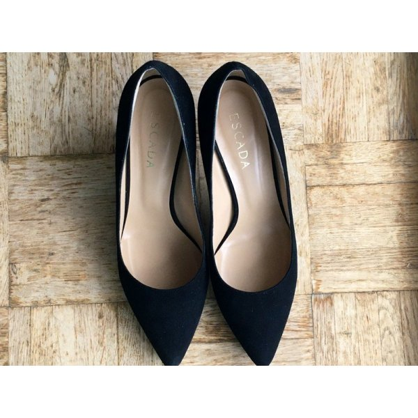 ESCADA Pumps/High Heels in Gr. 41 NEU, schwarz/black