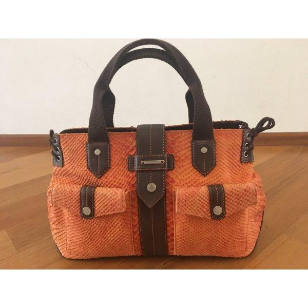 Escada Sport Carry Bag orange leather