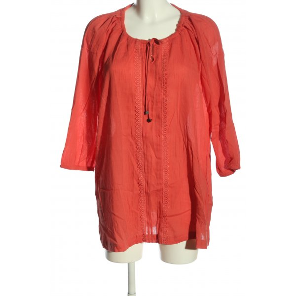 Esmara Langarm-Bluse rot Casual-Look