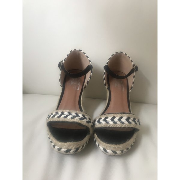 Espadrilles Sandalen mit Keilabsatz
