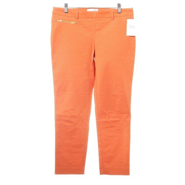 Esprit Chinohose orange Casual-Look