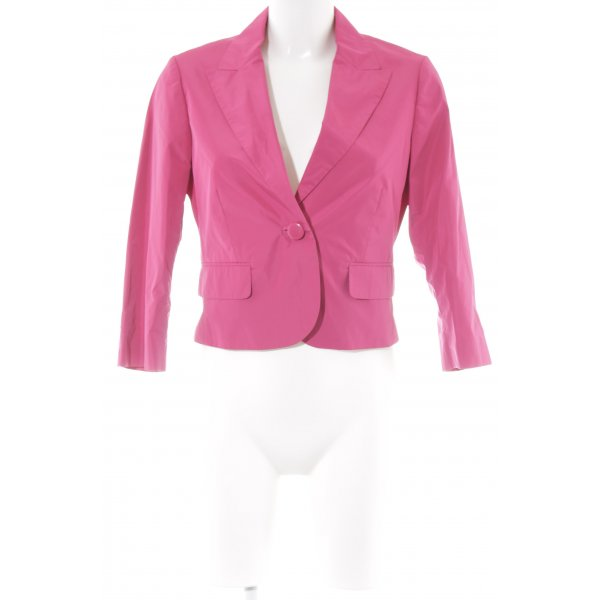 esprit collection Kurz-Blazer magenta Business-Look