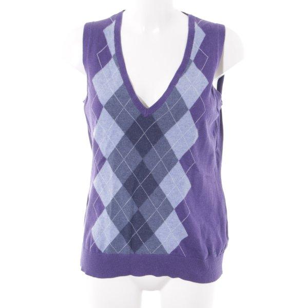 Esprit Cardigan en maille fine violet-bleuet style classique
