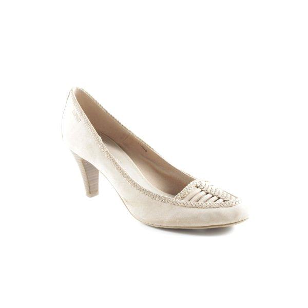 Esprit High Heels beige Business-Look