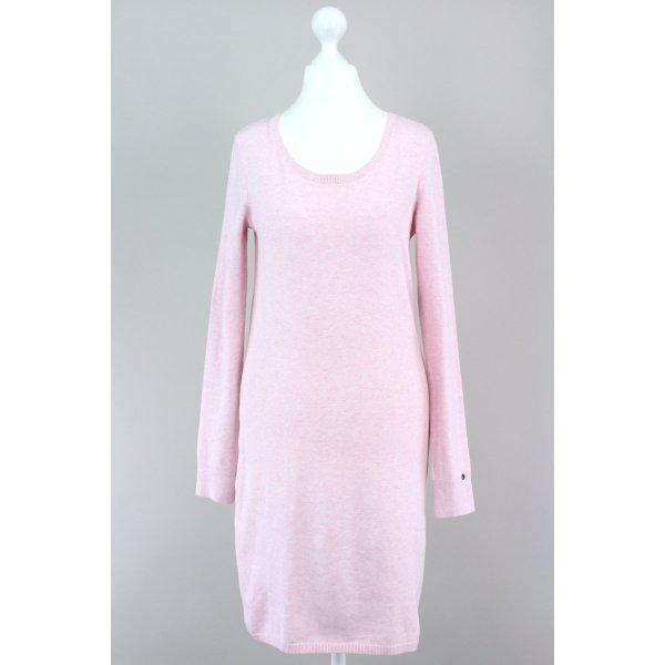 Esprit Vestido de tela de sudadera rosa