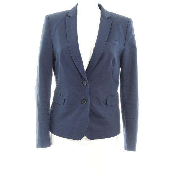 Esprit Long-Blazer dunkelblau Business-Look
