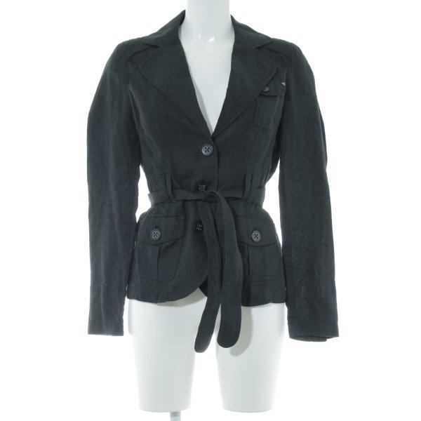 Esprit Long-Blazer schwarz Casual-Look