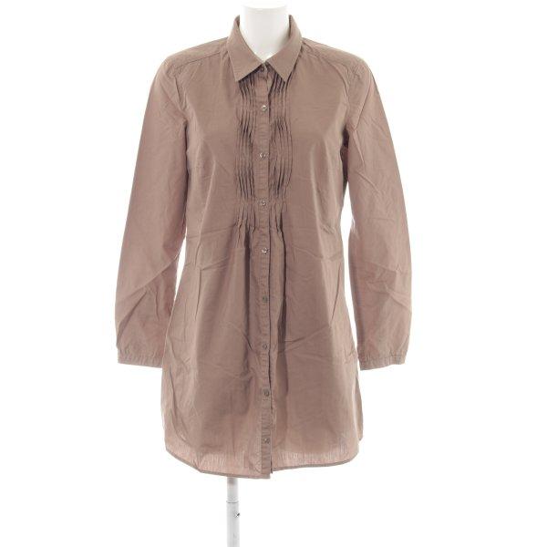Esprit Long-Bluse braun Casual-Look