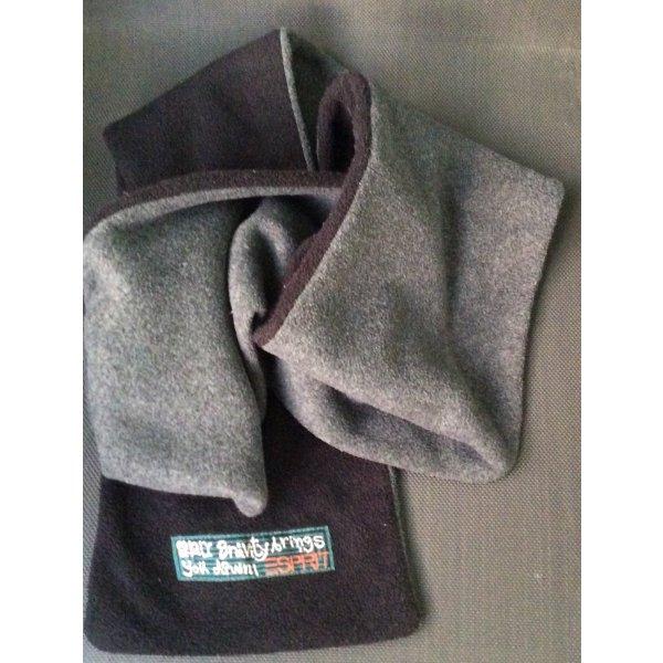 Esprit Écharpe en tricot noir-gris