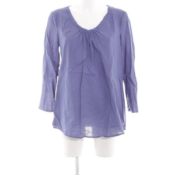 Esprit Schlupf-Bluse lila Casual-Look