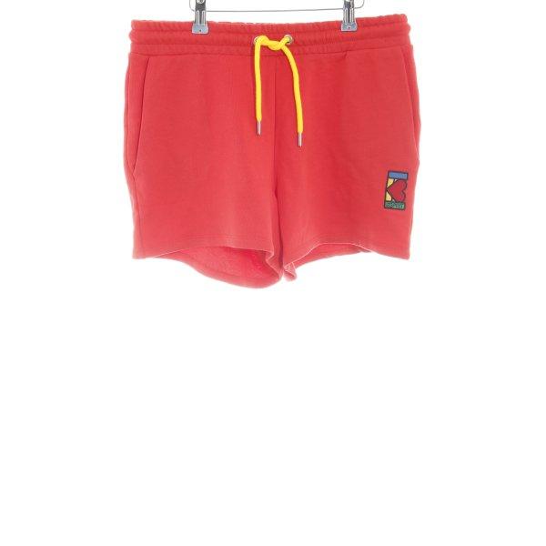 Esprit Sportshorts hellrot-gelb sportlicher Stil