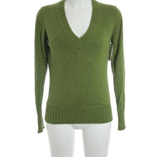 Esprit Strickshirt grasgrün Casual-Look
