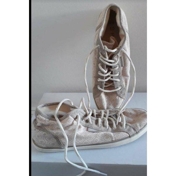 Esprit Turnschuhe Sneaker (Converse Art), Gr. 38, beige