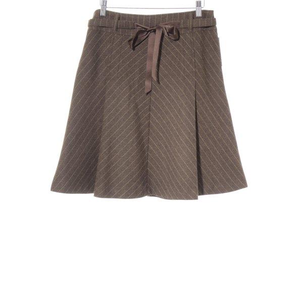 Esprit Wollen rok gestippeld zakelijke stijl