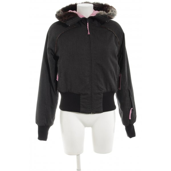 Evaw Wave Winterjacke schwarz Casual-Look