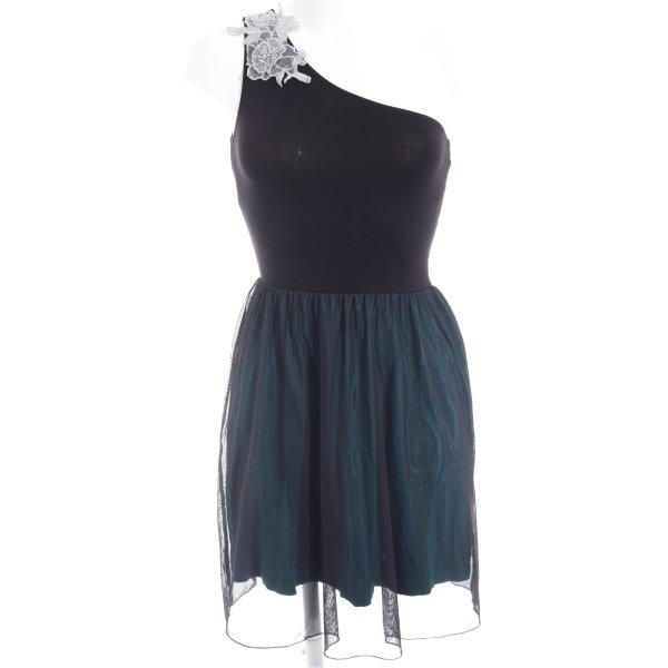 Even & Odd Abendkleid schwarz-kadettblau Casual-Look