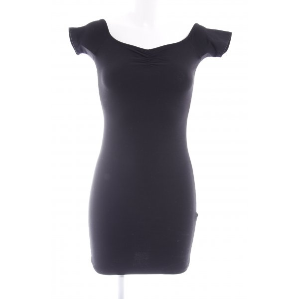 Even & Odd Minikleid schwarz Casual-Look