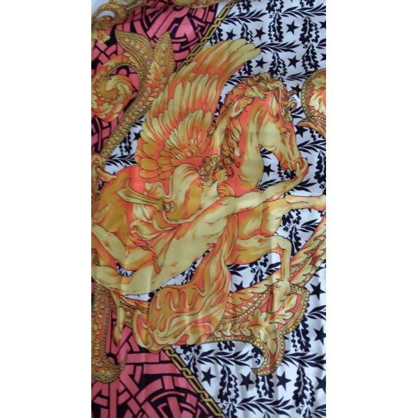 Escada Bufanda de seda multicolor Seda