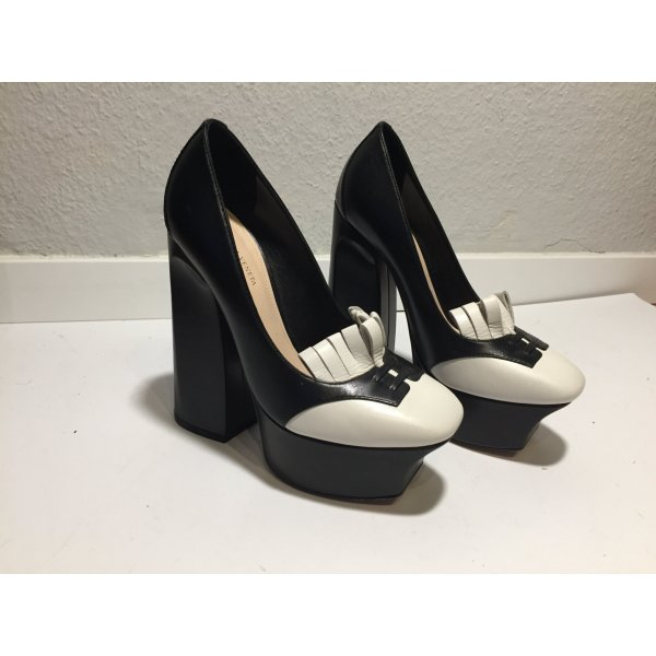 Extravagante Bottega Veneta High Heels mit Plateau Gr.36,5