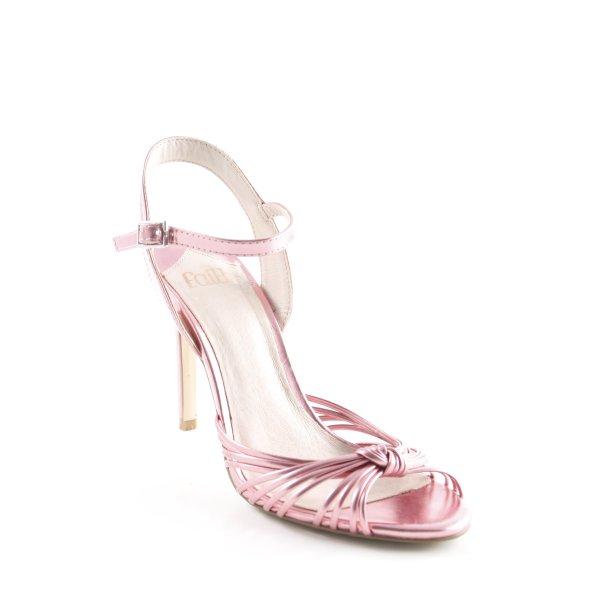 Faith High Heel Sandaletten rosa-pink Elegant
