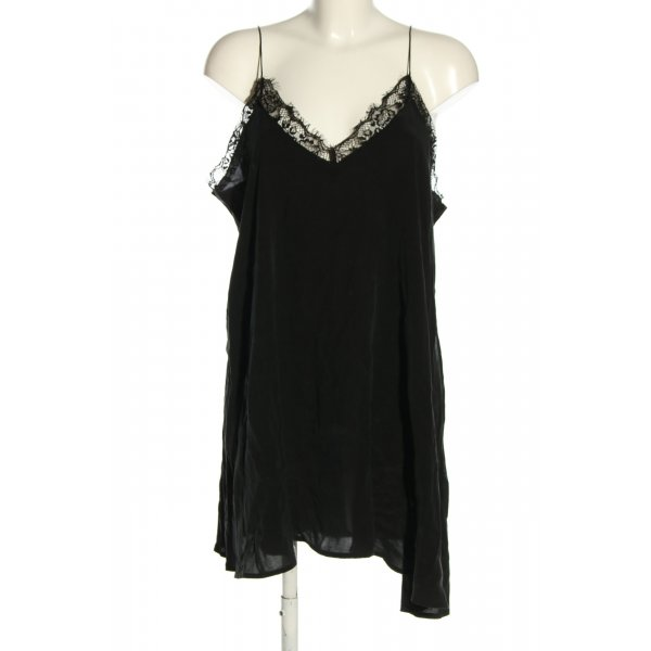 Farina Opoku Trägerkleid schwarz Elegant