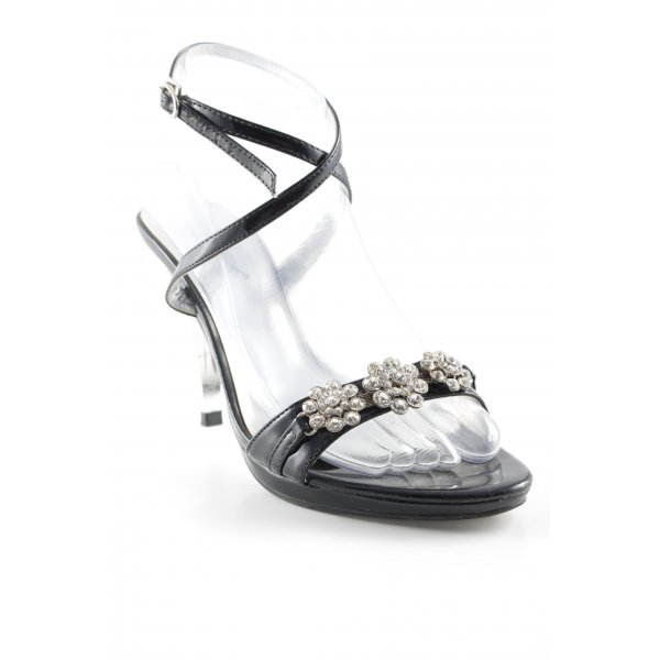 Fashion Girl Riemchen-Sandaletten schwarz Elegant