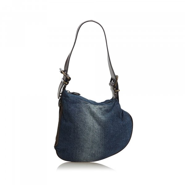 Fendi Denim Oyster Bag