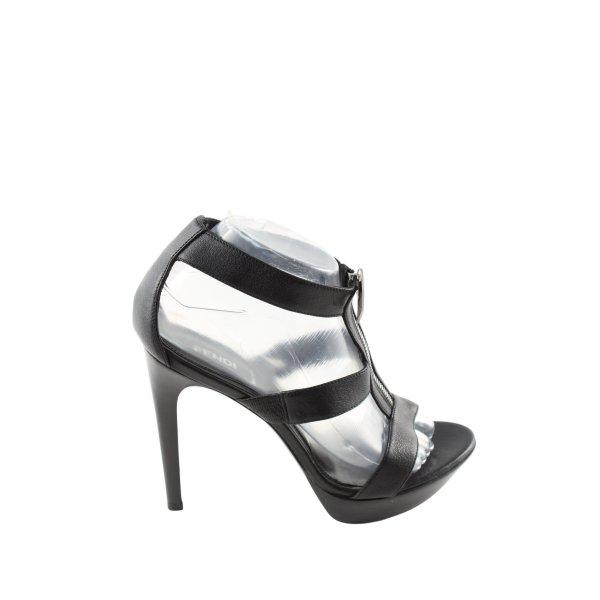 Fendi High Heel Sandaletten schwarz Casual-Look