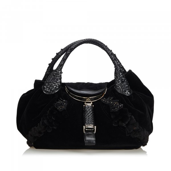 Fendi Leather Spy Handbag