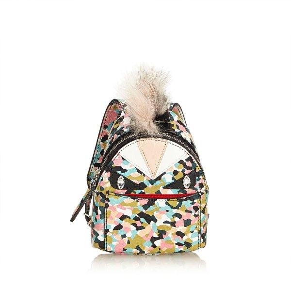 Fendi Mini Monster Backpack Bag Charm