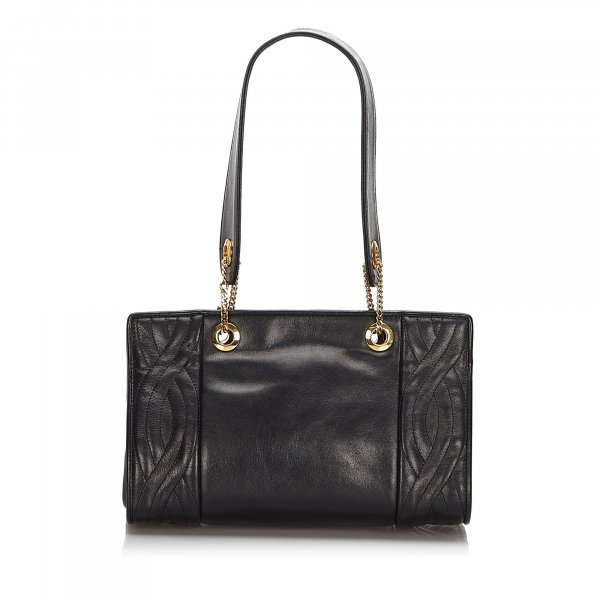 Fendi Quilted Leather Shoulder Bag