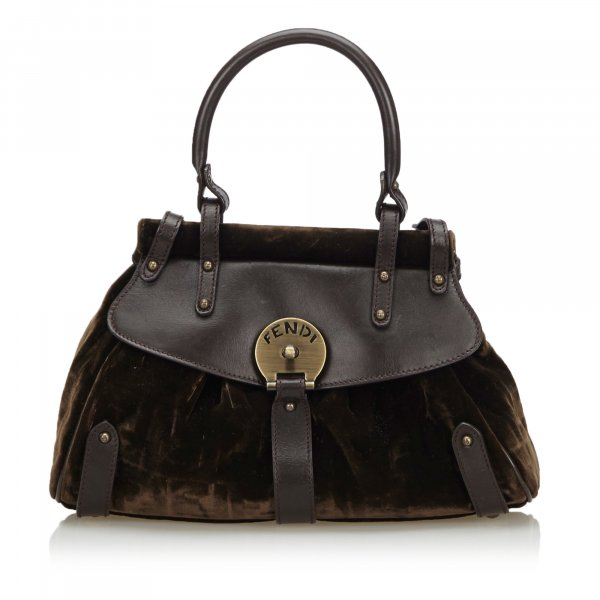 Fendi Velour Handbag