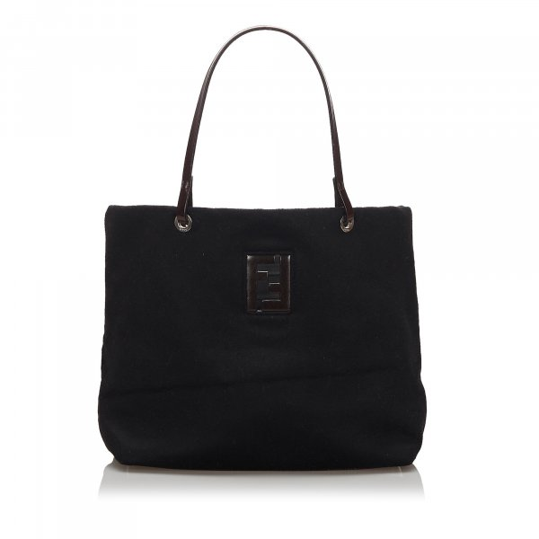 Fendi Wool Tote Bag